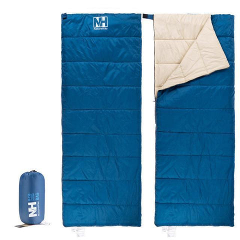 NatureHike Splicing Double Sleeping bag Ultralight Sleeping bags Envelope Split Jointed Sleeping bag Spring Summer