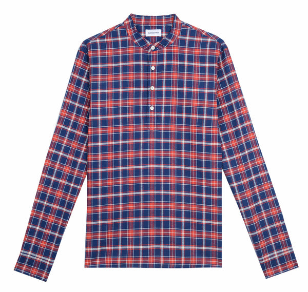 Signature Popover in Plaid Twill