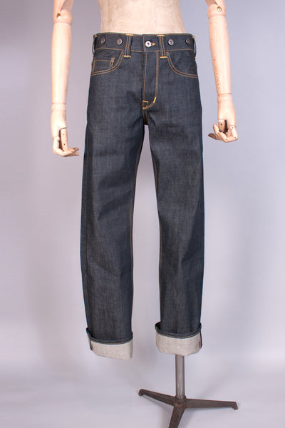 1930 - 1940s Selvedge Denim Workwear Jeans - J. Cosmo Menswear
