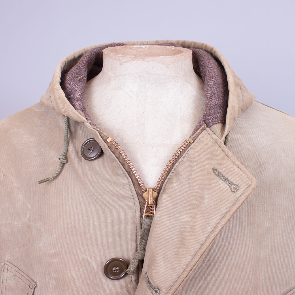 1940s Vintage USN Torpedoman's Parka - J. Cosmo Menswear