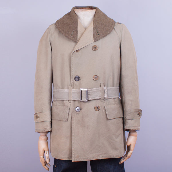 1941 Vintage US Army Mackinaw Coat - J. Cosmo Menswear