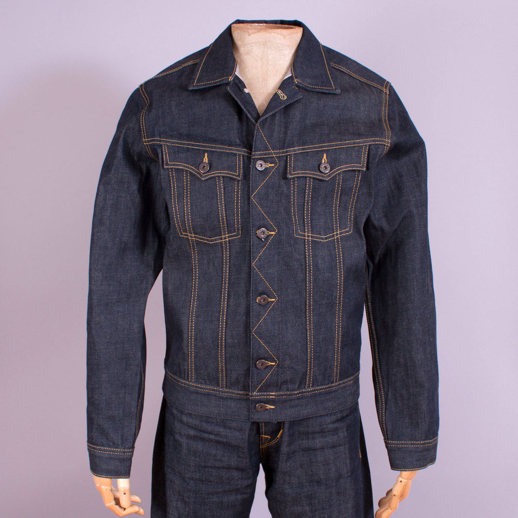 1950s Selvedge Denim Jacket - J. Cosmo Menswear