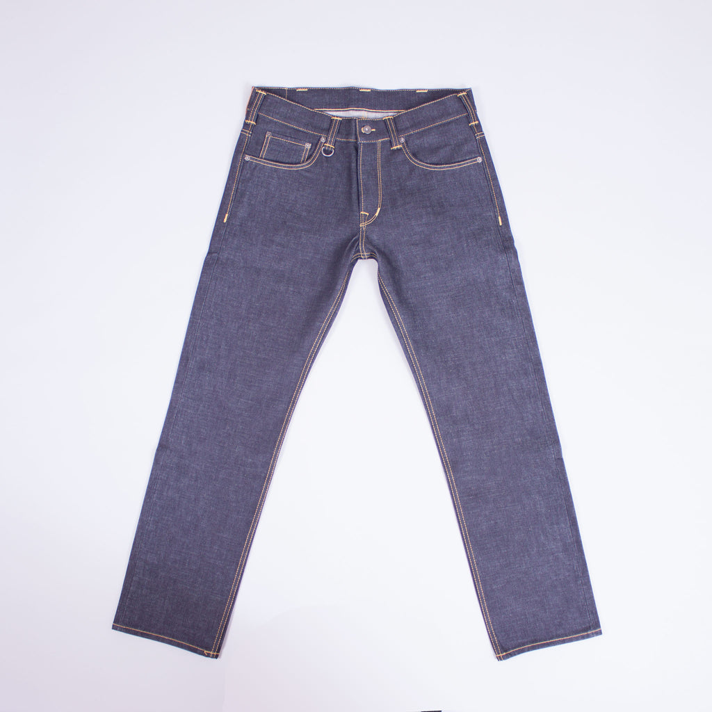 1950s selvedge denim jeans front view