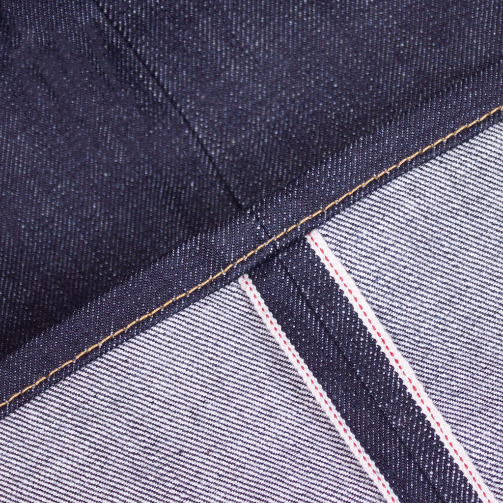 1950s selvedge denim jeans turn-up detail