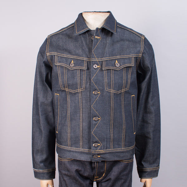 11oz Sanforized Selvedge Denim Jacket - J. Cosmo Menswear
