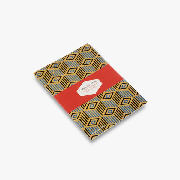 Decorated Papers: Gift Wrapping Paper Book - J. Cosmo Menswear