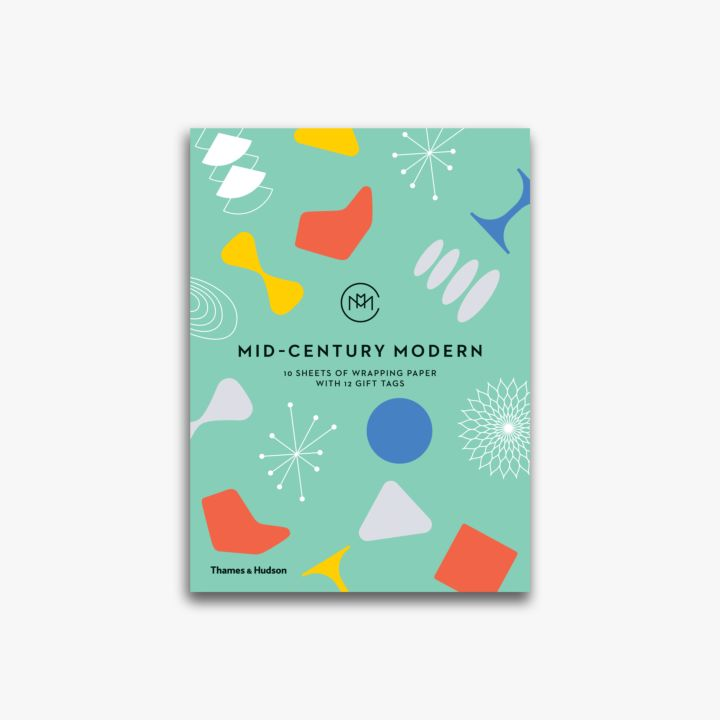 Mid-Century Modern: Gift Wrapping Paper Book - J. Cosmo Menswear