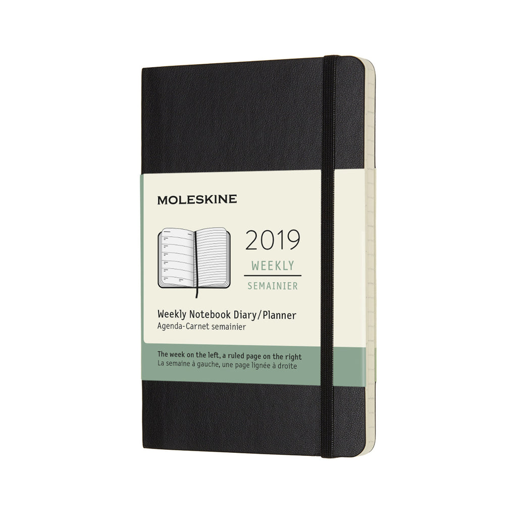 2019 Weekly Moleskine Notebook - J. Cosmo Menswear