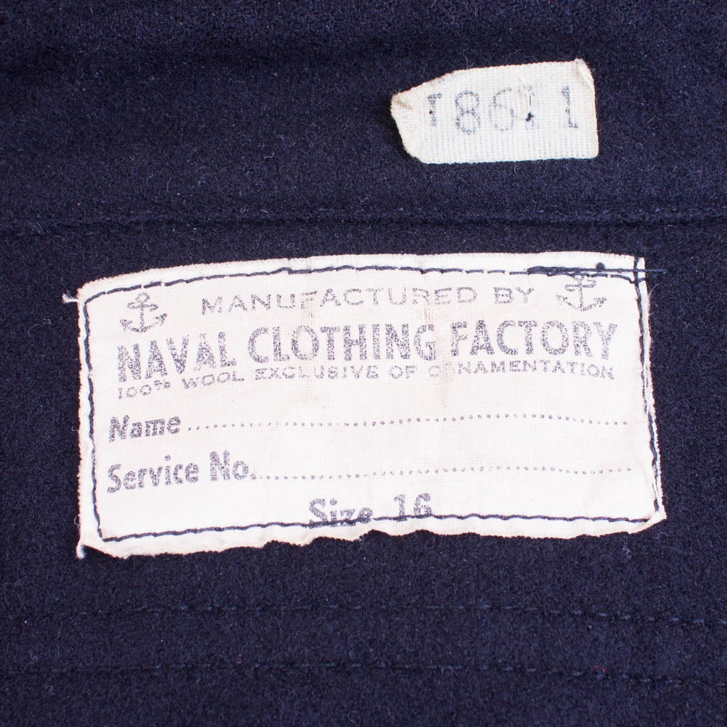 Early 1940s Vintage US Navy CPO Shirt - J. Cosmo Menswear