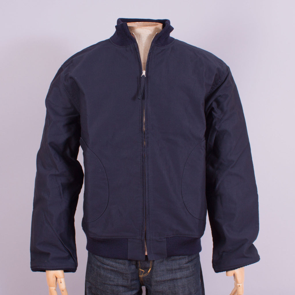 1942 USN Deck Jacket - Navy - J. Cosmo Menswear