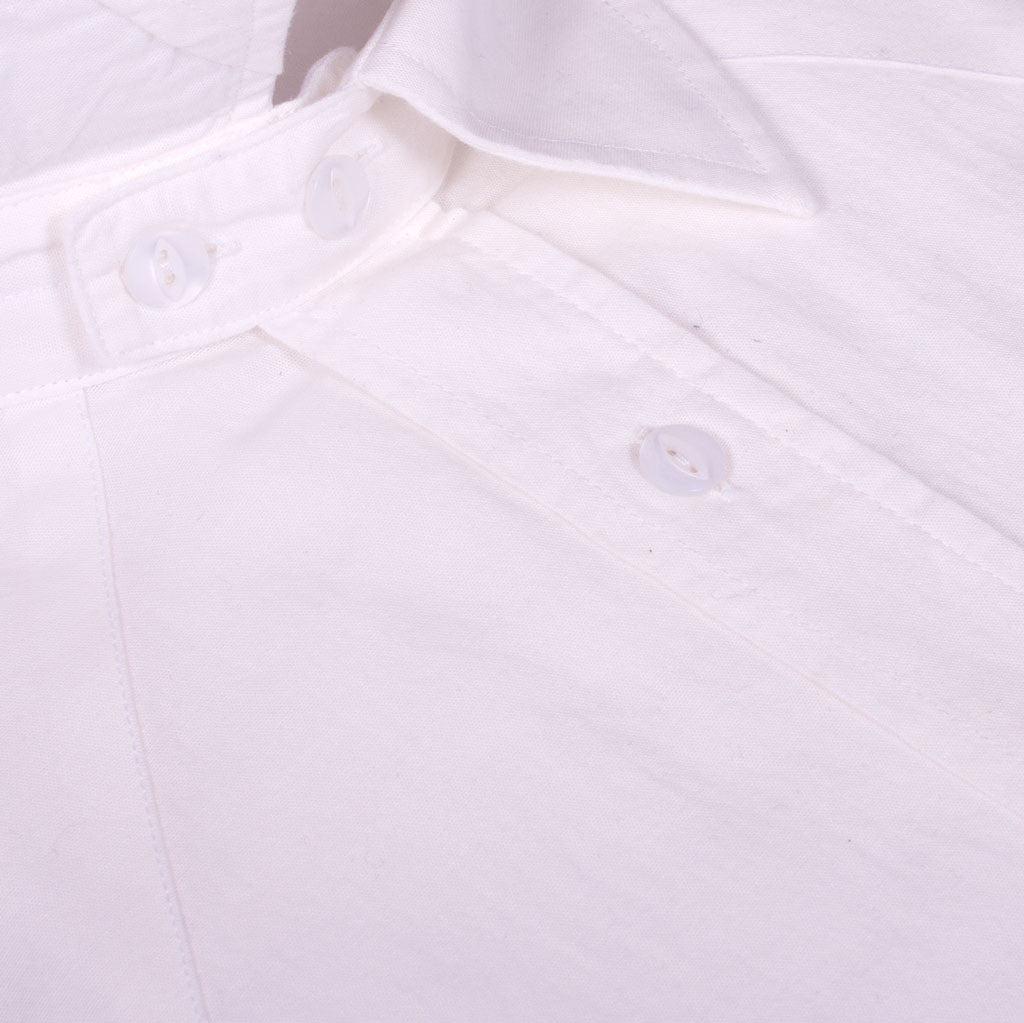 White 1950s Shirt - J. Cosmo Menswear