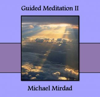 Guided Meditations II CD