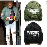 Hip Hop YEEZUS jacket Camouflage Air Force Flight Bomber Jacket Men Kanye West Jacket YEE S-XXL - Rakupos