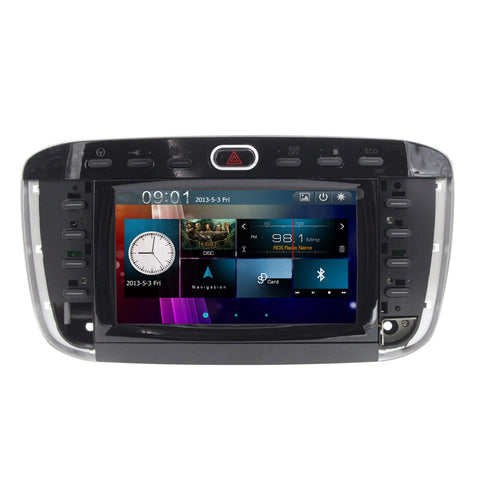 Wince 6.0 double din For Fiat Punto / Abarth Punto EVO / For Fiat Linea 2012~2015 Car dvd player Radio Radio IPOD Rear camera FM