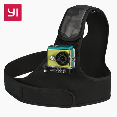 Chest Mount Action Camera Black+camo For Sports Camera