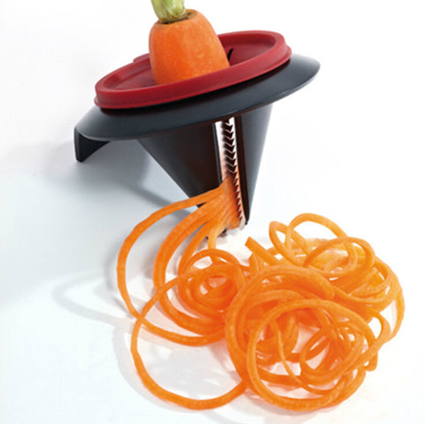 Fruit Vegetable Spiralizer Spiral Vegetable Slicer Shredders Peeler Cutter carrot grater - Rakupos