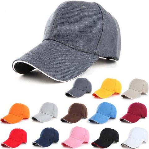 Working Caps Solid Baseball Cap Wholesale Trucker Snapback Hat Fitted Cheap Cap Classic Outdoor Sunscreen Golf Hats For Lady Men