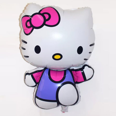 75*48cm 1Pcs/lot Big Size Cute Hello Kitty Foil Balloon Baby Globos Toy Birthday&Wedding Party Decoration KT Cat Helium Balloon - Rakupos