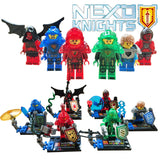 6pcs/lot Nexus Knights Future Knight Castle Warrior New Building Block Mini figures Bricks Kid Toy Gift