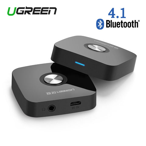 4.1 Wireless Bluetooth Receiver Speaker Headphone Adapter 3.5MM Audio Stereo Music - Rakupos