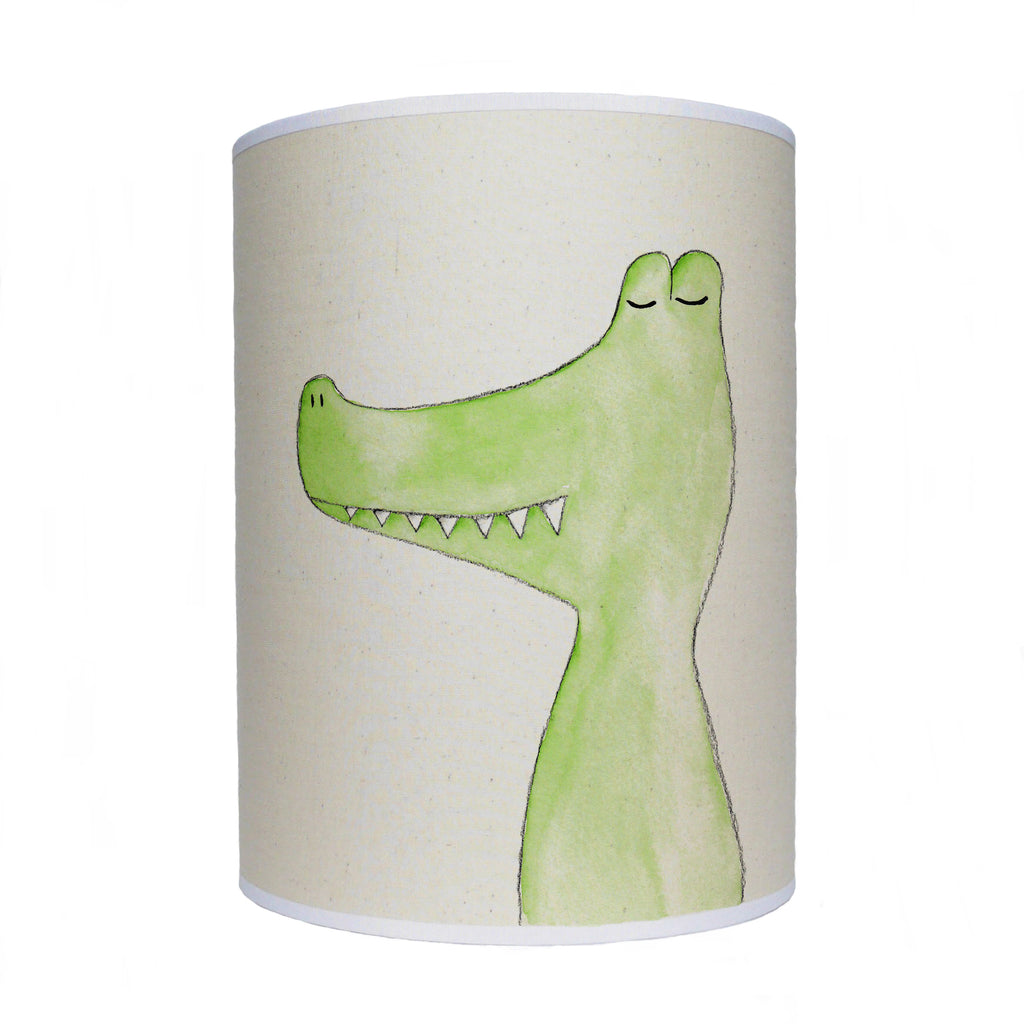 Crocodile lamp shade/ ceiling shade