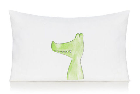 Crocodile pillow case