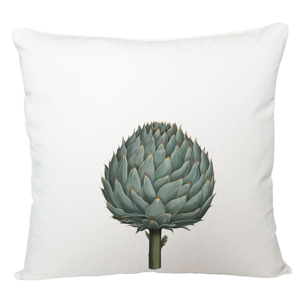 Artichoke cushion cover