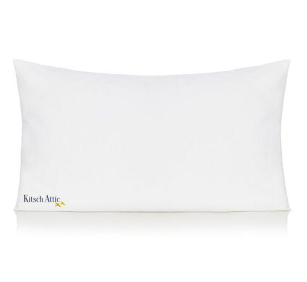 White parrot pillow case