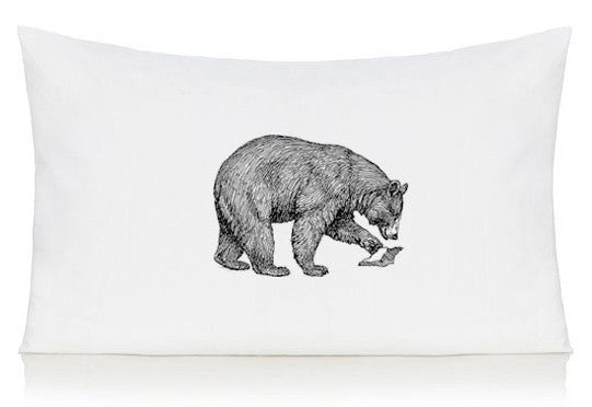 Bear pillow case