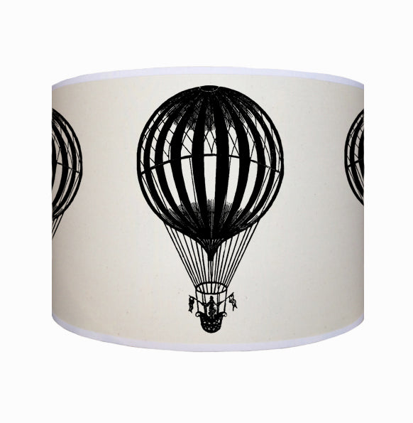 Black hot air balloon shade