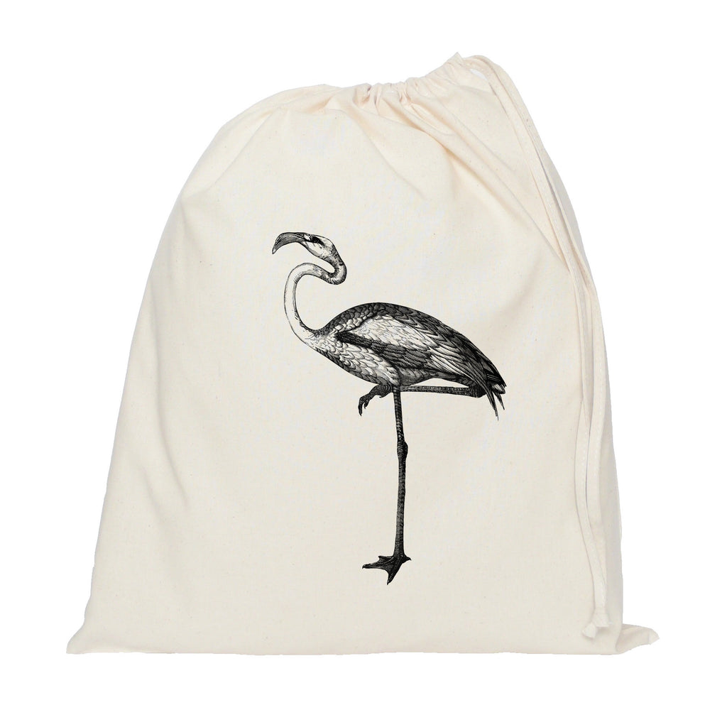 Heron drawstring bag