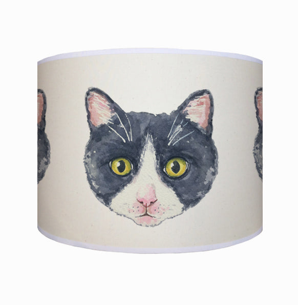 Black and white cat shade