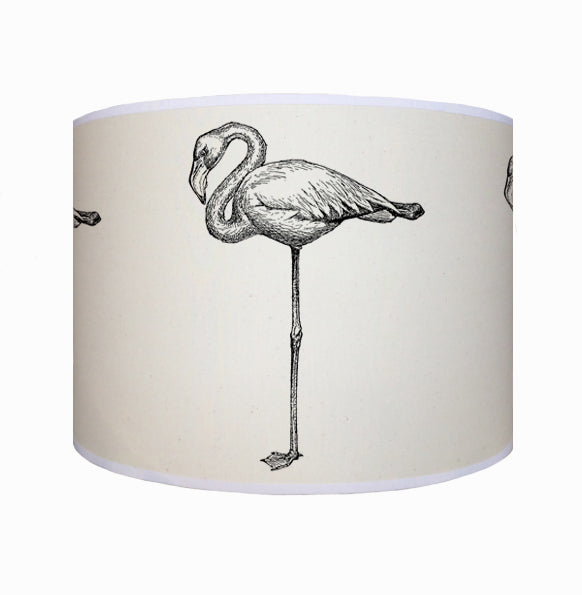 Black flamingo shade