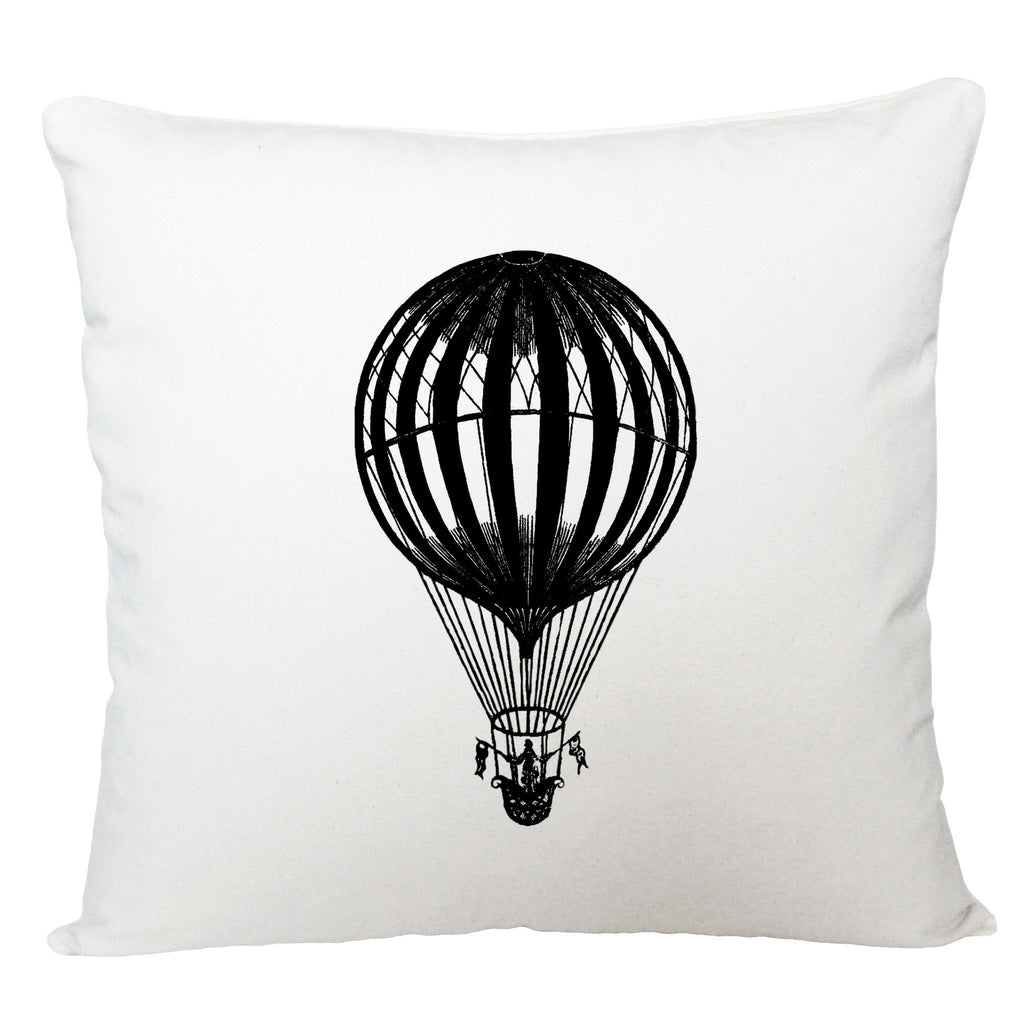 Hot air balloon cushion cover