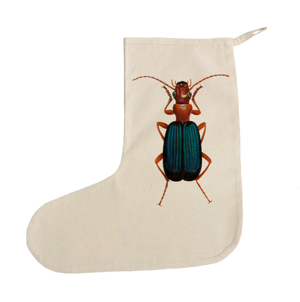 Beetle Christmas stocking