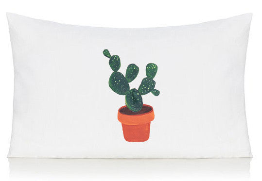 Cactus pillow case