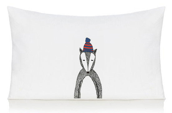 Chad the badger pillow case