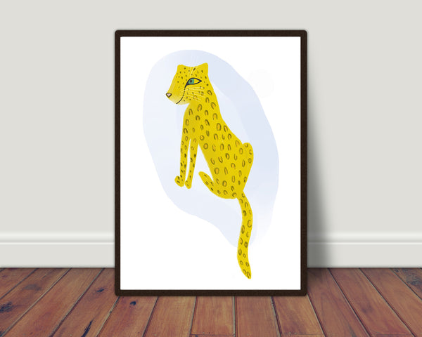 Cheetah print/ wall art