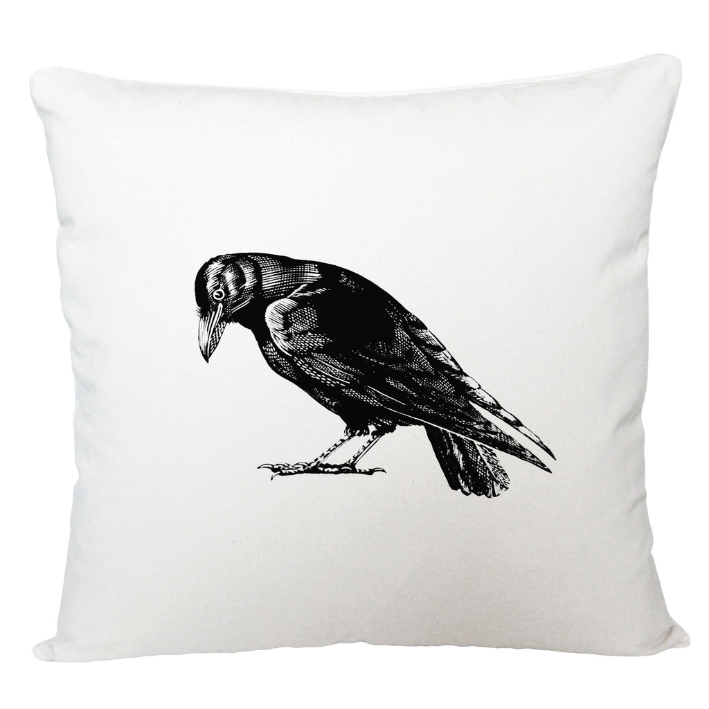 Crow cushion cover