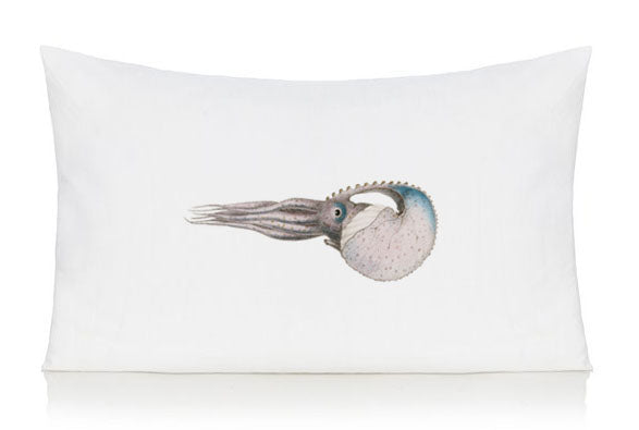 Cuttlefish pillow case