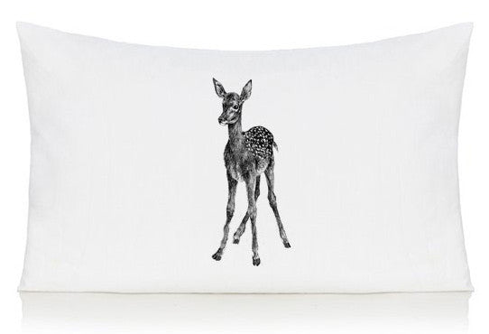 Deer pillow case