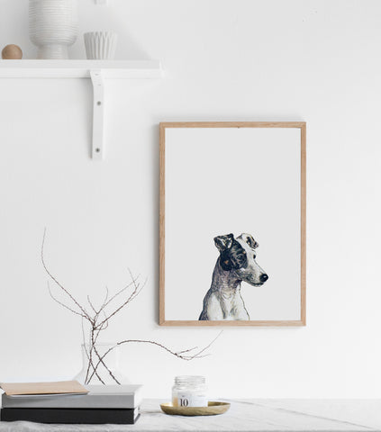 Dog print/ wall art