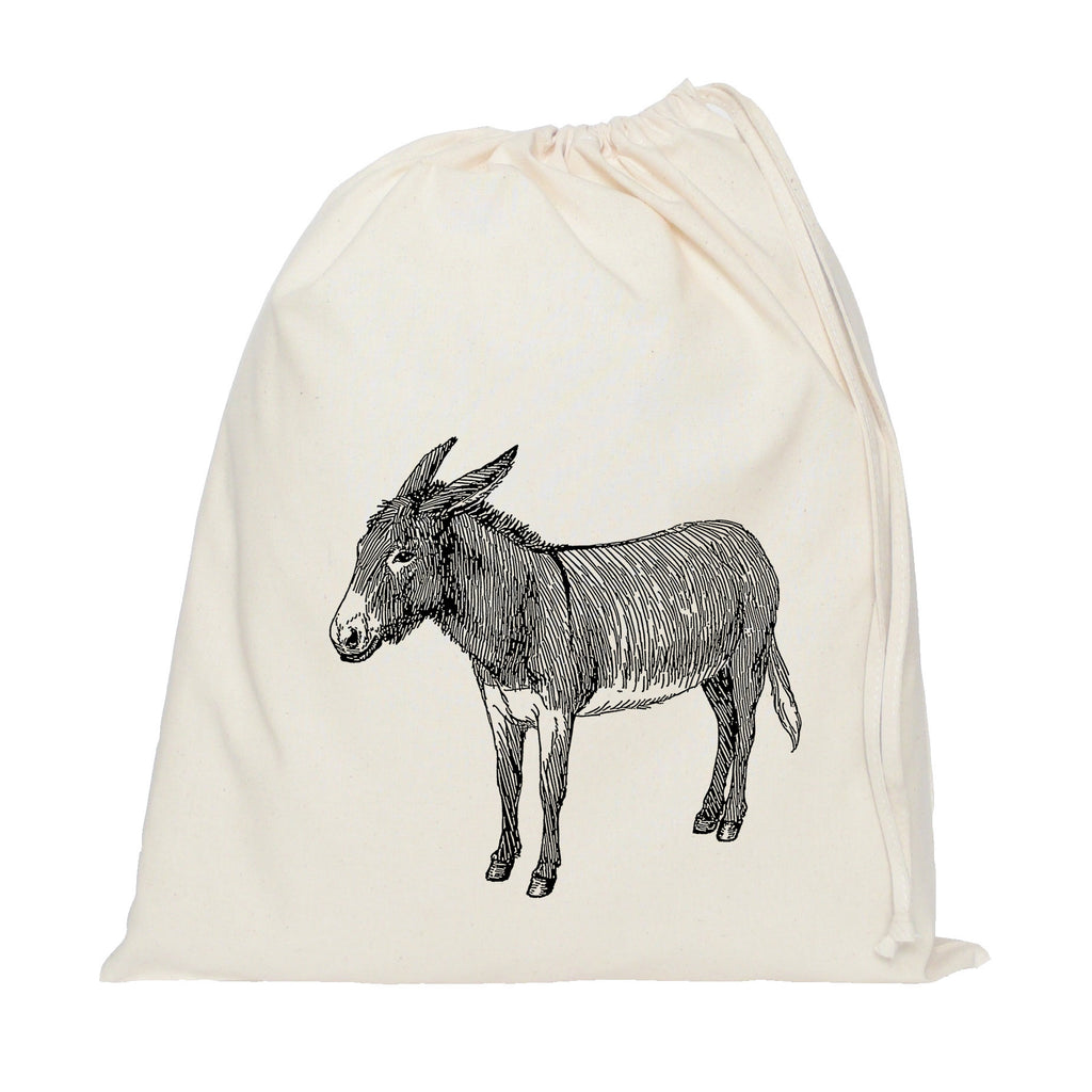 Donkey drawstring bag