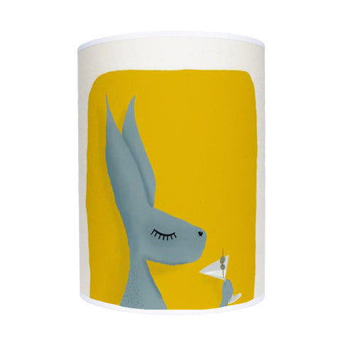 Hare with cocktail lamp shade/ ceiling shade