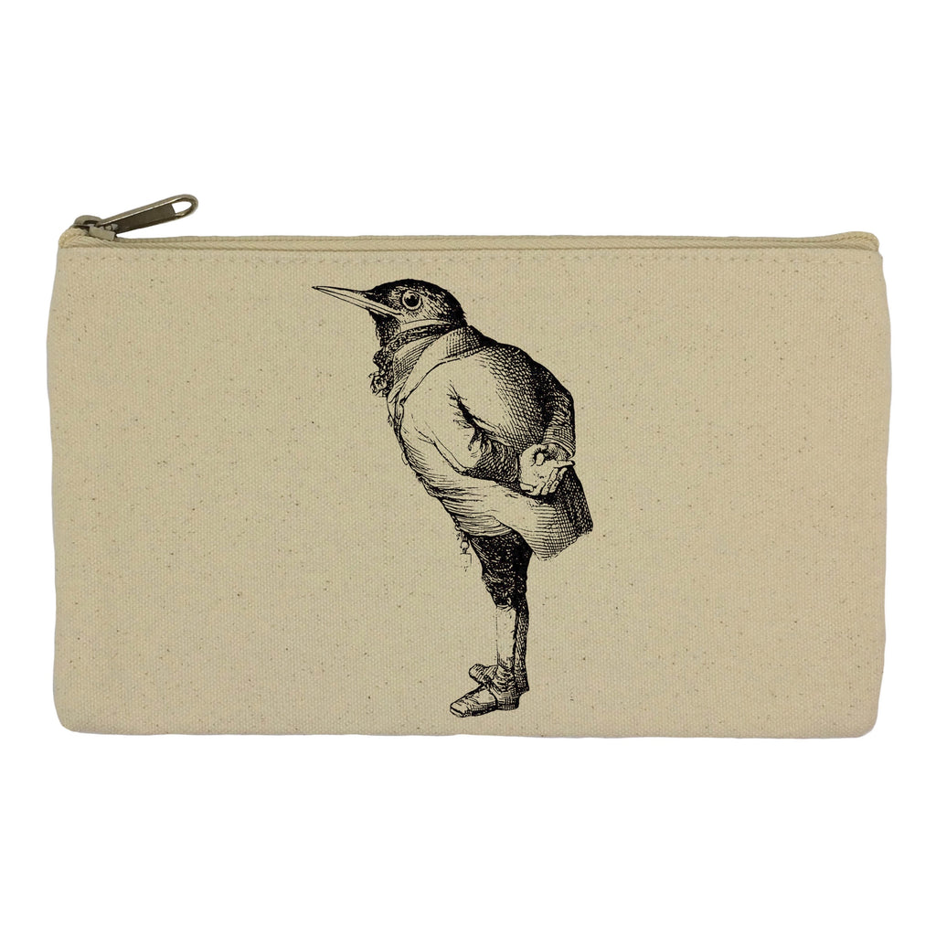 Bird in a suit pencil case