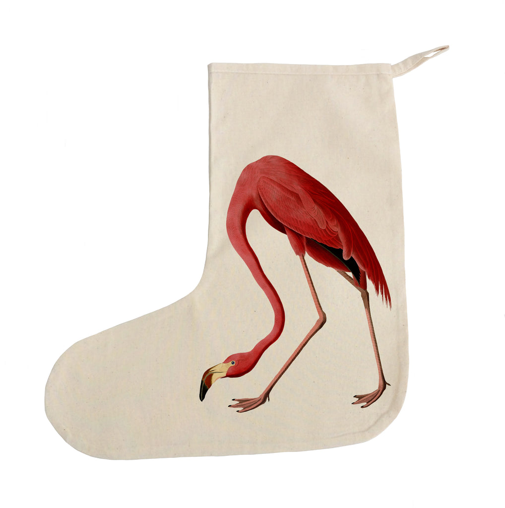 Flamingo Christmas stocking