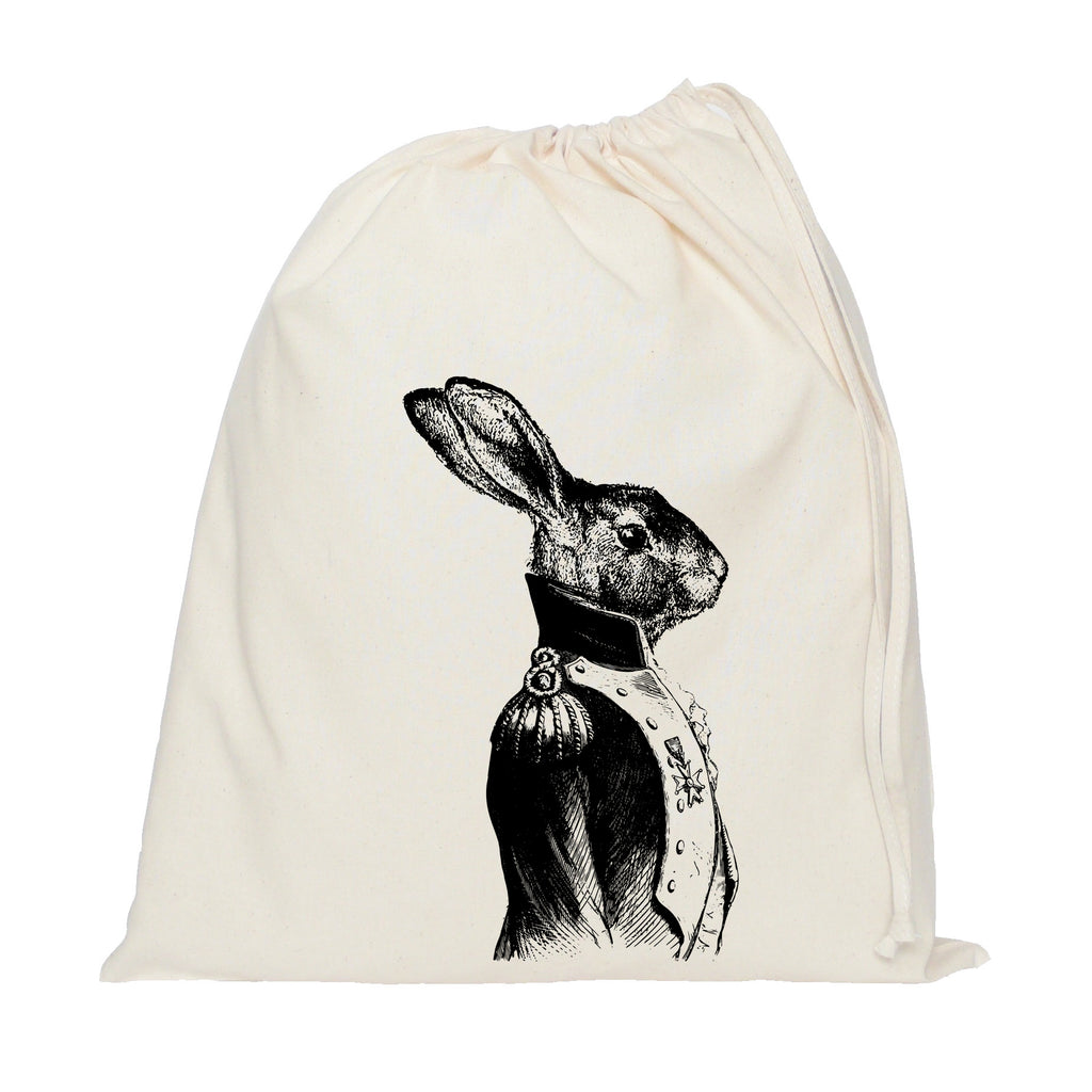 General hare drawstring bag