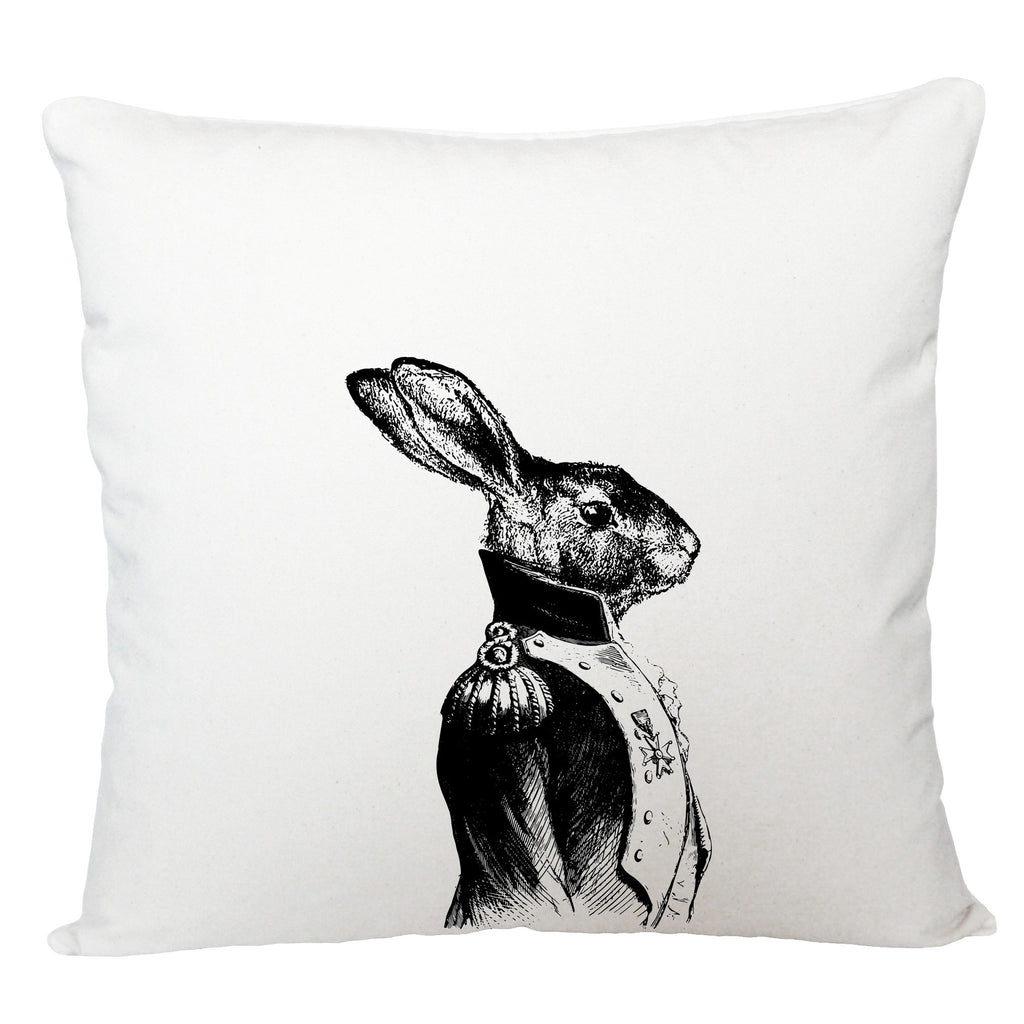 General hare cushion cover