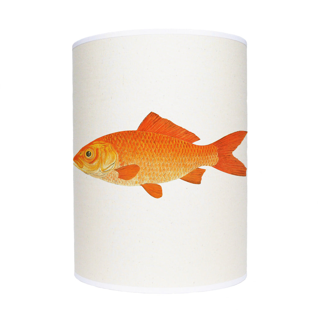 Gold fish lamp shade/ ceiling shade
