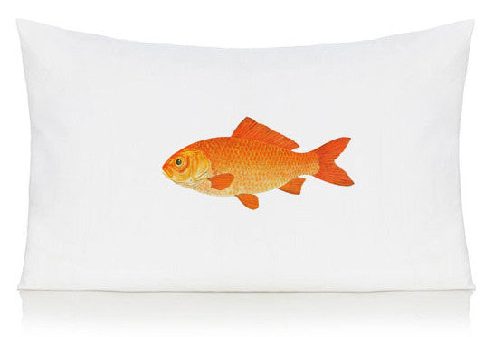 Gold fish pillow case